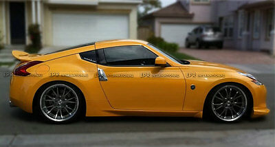 ACE Rear Trunk Spoiler Wing Lip Protect For Nissan 370z AJT3 Style Carbon Fiber