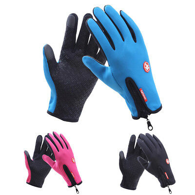 Men Winter Driving Hiking Gloves Touch Screen Windproof Tactical Mittens Gloves