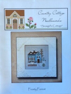 Country Cottage Needleworks Snowgirl's Cottage Chart