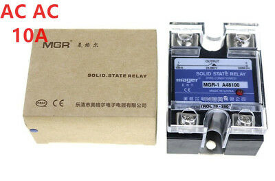 Mager SSR 10A AC-AC Solid state relay Quality Goods MGR-1 A4810