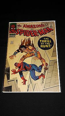 Amazing Spider-Man #34 - Marvel Comics - March 1966 - 4th Kraven the Hunter