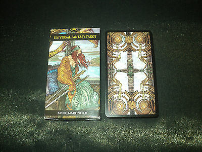 Universal Fantasy Tarot Cards Deck - Boxed & Complete - Good Used Condition