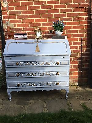 Just sold ~ Shabby Chic Annie Sloan Chalk Paint French Bureau Bookcasez
