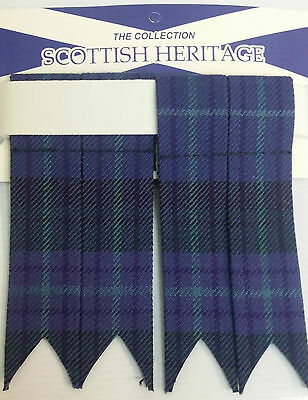 Spirit of Alva Adult Garter Sock Scottish Kilt Flashes SALE