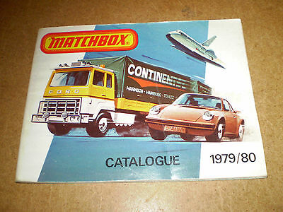 Matchbox Toy Catalogue 1979/80 Usa Edition Near Excellent Condition