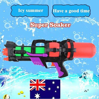 Super Soaker Giant Squirt Ocean Pool Pump Action Water Gun Pistol Toy Popular AU