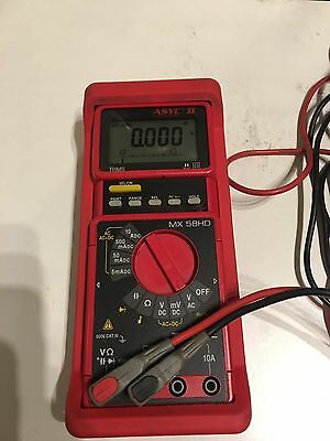 Metrix MX58 HD Multimeter