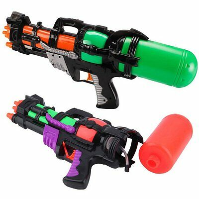 Kids Safety Water Gun Child Super Soaker Pistol Outdoor Long Range Squirt Toys
