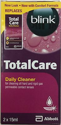 Blink Total Care Daily Cleaner 2x15ml with comfort formula