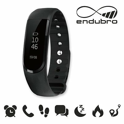 endubro FITNESS TRACKER ID101 BLUETOOTH TOUCHSCREEN ANDROID E IOS - NERO
