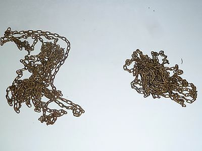 Pair of vintage chains 6ft long for 30 hour cuckoo clock