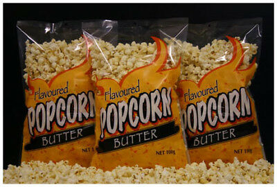 Buttered Popcorn Bags -Pre-popped 5 x 100g