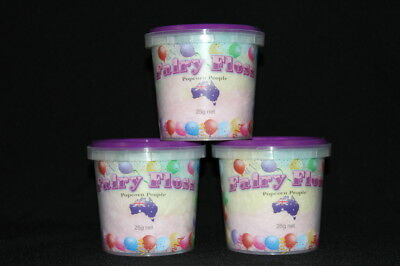 Fairy Floss Bucket 25g  (Multi Colours)