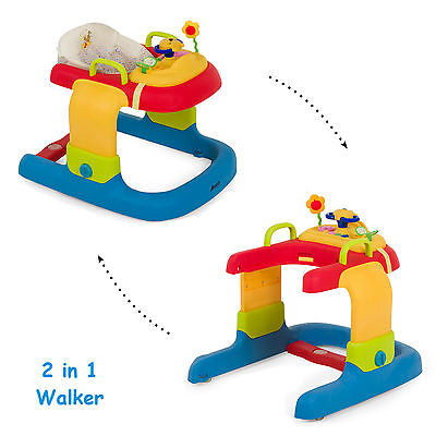 Hauck Disney Pooh Ready To Play 2 In 1 Baby Walker With Play Tray Lights & Music