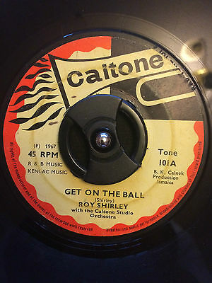 Roy Shirley - Get On The Ball 7""