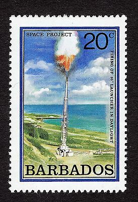 1979 Barbados 20c firing launcher space project SG641 MNH R31346