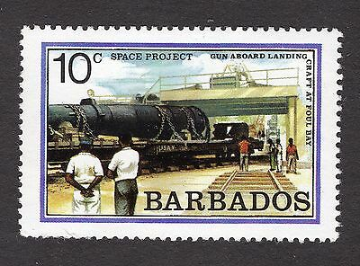 1979 Barbados 10c unloading HARP space project SG639 MNH R31349