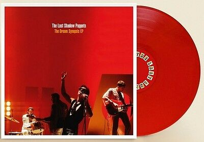 """THE LAST SHADOW PUPPETS The Dream Synopsis Ltd RED VINYL 12"""" EP SEALED & IN HAND"""