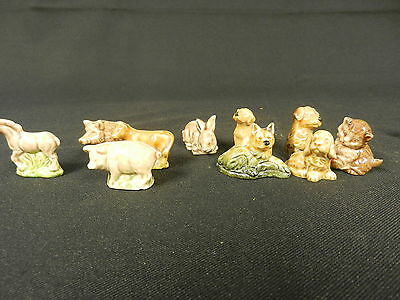 10 Wade Whimsie Animals Lot 1