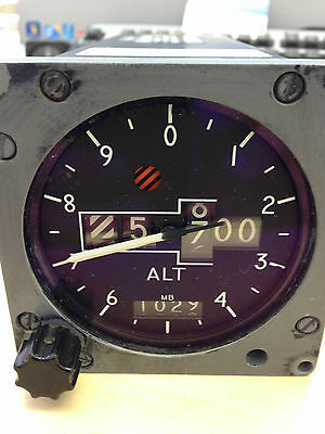 RAF Aircraft  Tornado Smiths Aircraft Counter Pointer Altimeter -1000 to +50,000