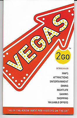 VEGAS 2GO-100page booklet-all about what's on in VEGAS October 2016
