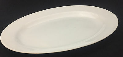 Edwin Knowles Large White Vitreious China Serving Platter - Antique USA