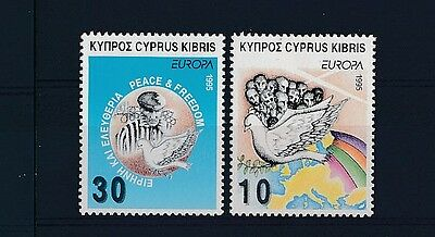 D109973 Europa CEPT 1995 Peace & Freedom MNH Cyprus