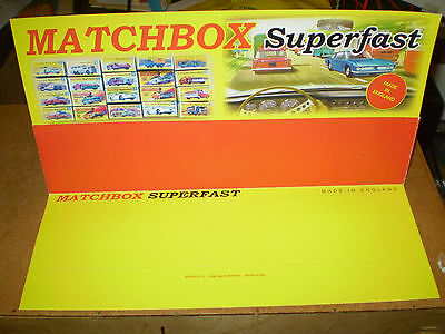 Matchbox Superfast Reproduction Shop Display Edition Excellent Condition