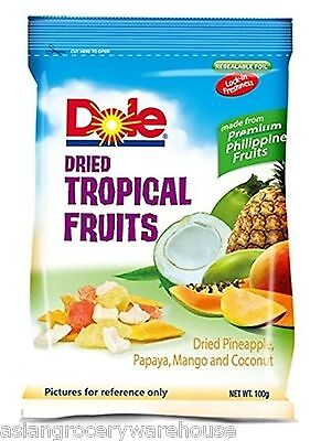 Dole Dried Tropical Fruit Sweet And Succulent The Philippines Fresh Taste 100g