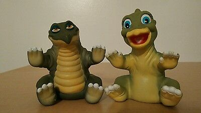 Land Before Time DUCKY SPIKE 1988 Pizza Hut Vintage Hand Puppets