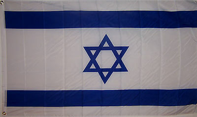NEW BIG 2x3ft ISRAEL ISRAELI JEWISH FLAG