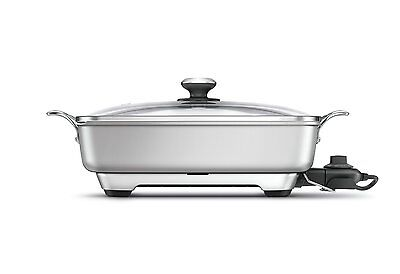 Breville L.P. BEF460XL Thermal Pro Banquet Skillet, Silver