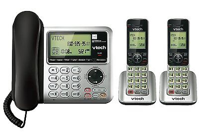 Vtech DECT CS6649-2 6.0 2-Handset Cordless/Corded Phone System
