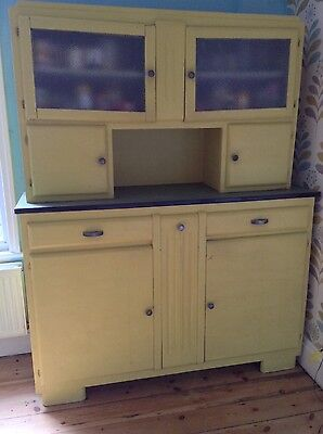 French vintage kitchen cupboards cabinet dresser 1940s 1950s