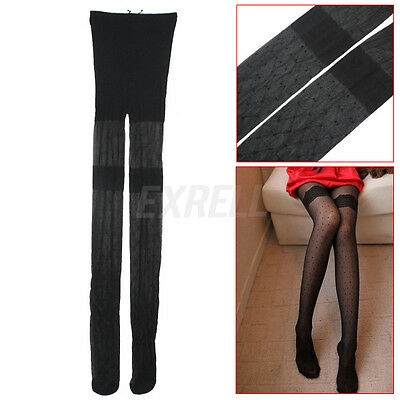 Moda Sexy Negro Pantis Medias Leggings Calcetines Largos Stockings para Mujer