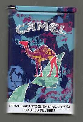 BOLIVIA Limited Edition  Empty TIN CAN Camel Collector pack 1 2016