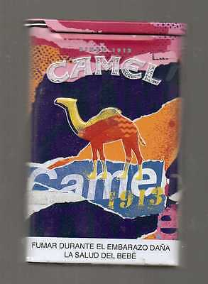 BOLIVIA Limited Edition Empty TIN CAN Camel Collector pack 2 2016