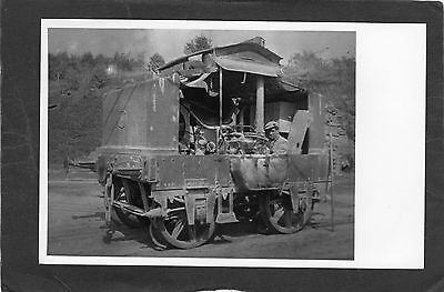 INDUSTRIAL loco and DRIVER!!!-Proper R/P-P/C glossy photo