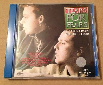 Tears For Fears - Scenes From The Big chair Video Cd Vcd Ultra Rare Singapore
