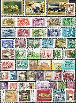 Hungary.  Selection of 53 used stamps.