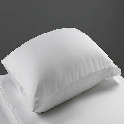 4 New White Hospital Medical Bed Pillow Cases White 100% Cotton Standard 20X30
