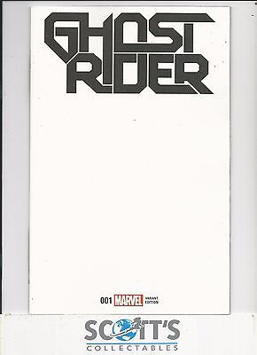 Ghost Rider  #1  New  (Blank Variant) Now
