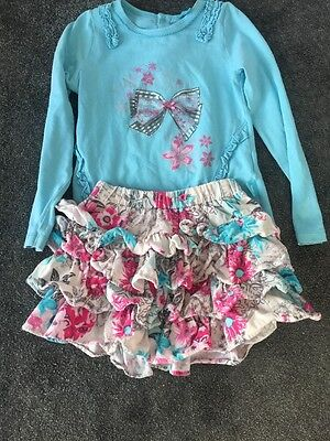 Pampolina Girls Suit Age 4 Years