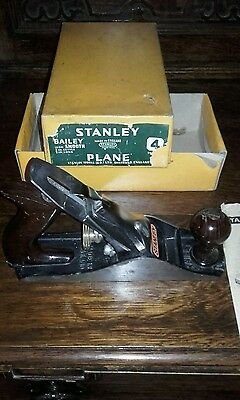 vintage used stanley bailey plane