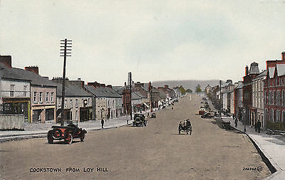 Cookstown from Loy Hill local publisher Catherine KilpatrickOld