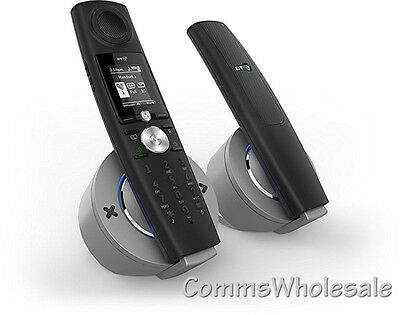 BT Halo 9500 Cordless Telephone with Nuisance Call Blocking & Bluetooth -Twin