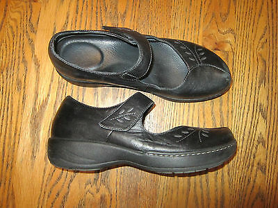 DANSKO Womens Black Leather Mary Jane Shoes - Size 39 / 8.5 - 9
