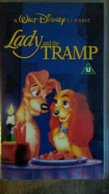 1955 Lady And The Tramp (Walt Disney) (VHS Video)