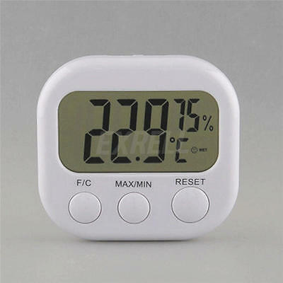Digital Indoor Outdoor LCD Hygrometer Humidity Meter Temperature Thermometer New