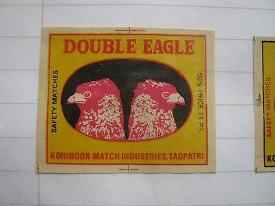 Old Indian Bird Matchbox Label.design 1.